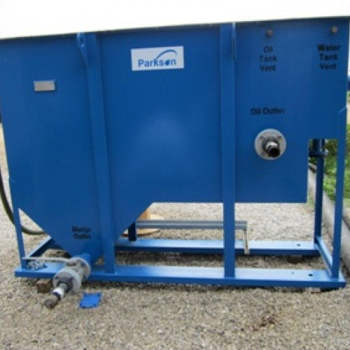 Slant Rib Coalescing (SRC) Oil/Water Separator System which removes oil and solids