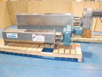 Factory Image of the Aqua WashPress® Dewatering Screw Press