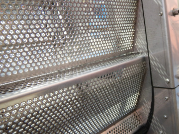 Upclose of Aqua Guard PF screen media