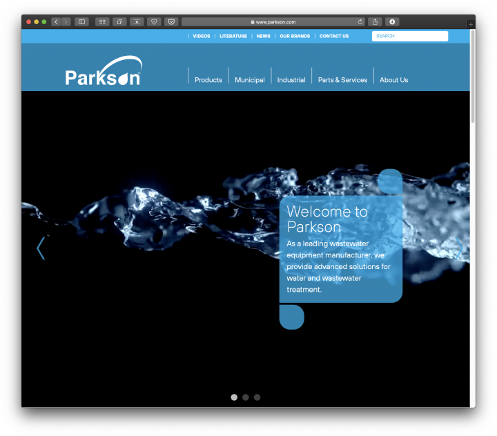 New Parkson Website