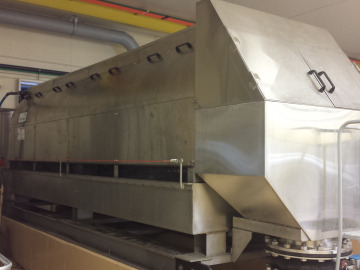 Multiple ThickTech Rotary Drum Thickener units used for sludge thickening
