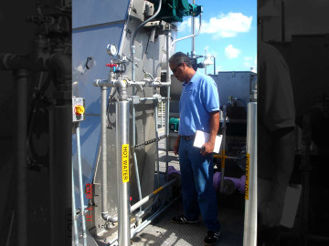 FilterONE onsite inspection